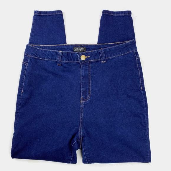 Forever 21 Denim - Forever 21 Plus Super High Rise Skinny Jeans 16